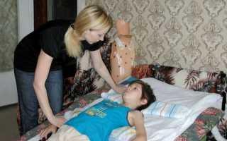 Компрессионный перелом позвоночника у детей