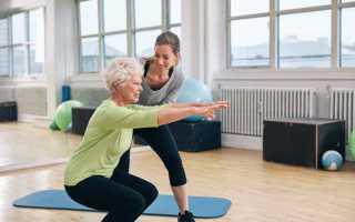 Гимнастика при остеопорозе — комплекс упражнений на укрепление кости