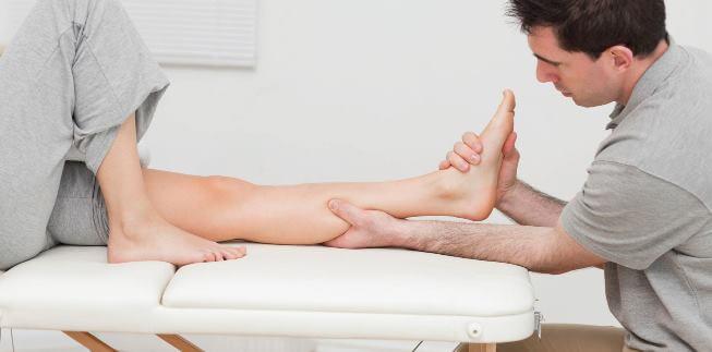 Массаж голени после перелома