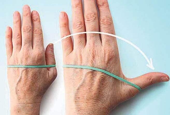 После перелом палец разработка