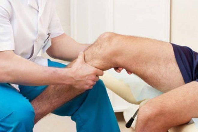 разработка больной ноги под присмотром специалиста