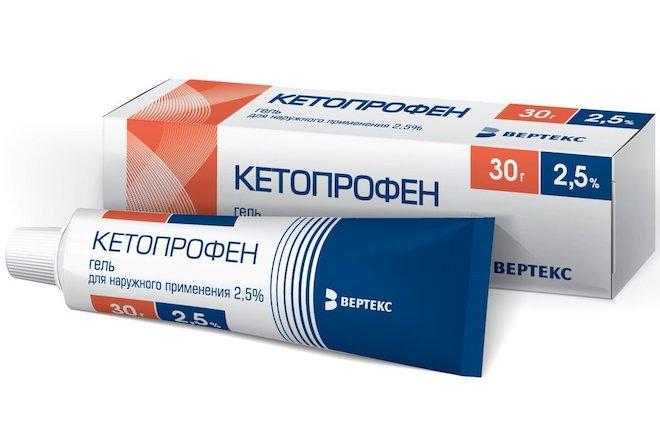 устранить отечность ноги поможет кетопрофеновая мазь